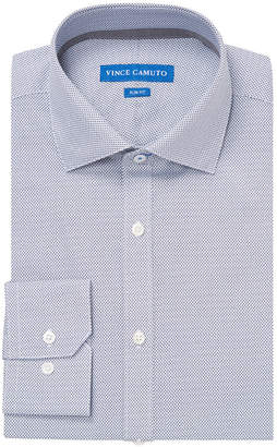 Vince Camuto Diamond Print Slim Fit Dress Shirt