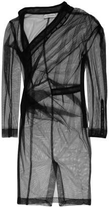 A.F.Vandevorst asymmetric ruched dress