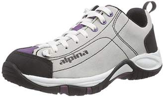Alpina Women 680342 Low Rise Hiking Shoes Purple Size: UK