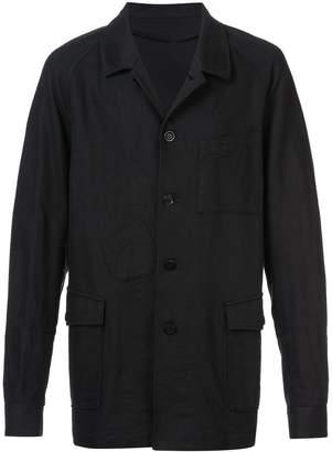 Undercover denim overcoat
