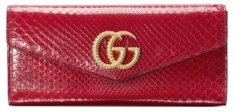 Gucci Broadway Genuine Snakeskin Evening Clutch