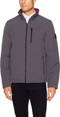 Nautica Men's Reversible Bomber Jacket Outerwear