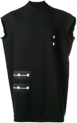 Rick Owens printed patch tank top