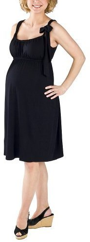 Liz Lange® for Target® Jersey Dress with Adjustable Tie - Black