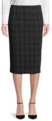 Lord & Taylor Ponte Pencil Skirt