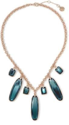 Vince Camuto Blue Jewel Statement Necklace