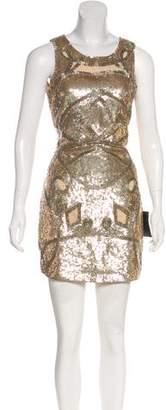 Needle & Thread Sleeveless Mini Dress