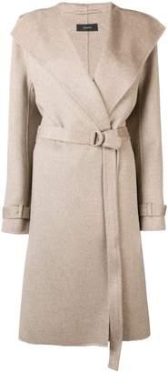 Joseph belted duster coat