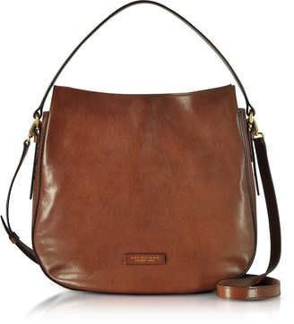 The Bridge Florentin Brown Leather Shoulder Bag