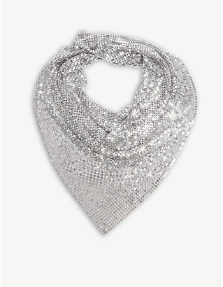 Paco Rabanne Mesh scarf