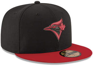 New Era Toronto Blue Jays Black & Red 59FIFTY Fitted Cap