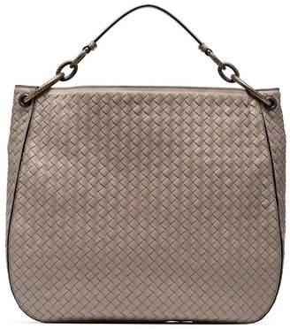 Bottega Veneta nude loop large leather tote bag