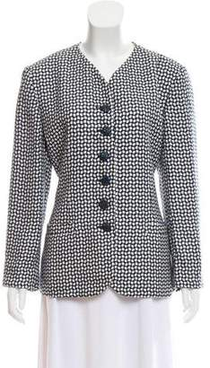 Christian Dior Geometric Patterned Jacket