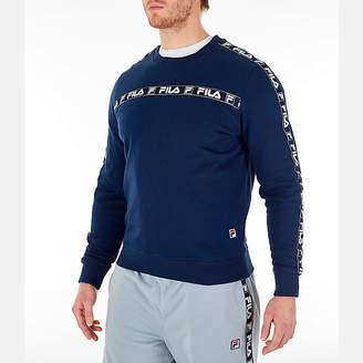 Fila Men's Tag Fleece Crewneck Sweatshirt