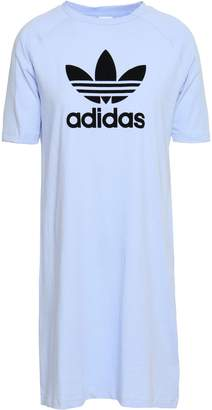 adidas Printed Cotton-jersey Dress