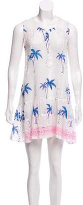 Juliet Dunn Printed Mini Dress