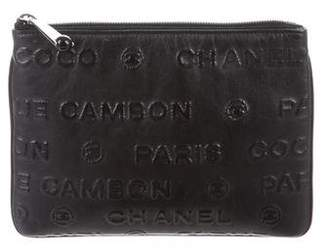 Chanel Unlimited Clutch