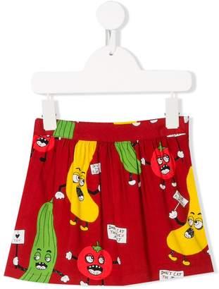 Mini Rodini Veggie woven skirt