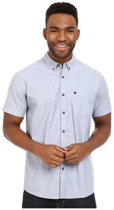 Quiksilver Wilsden Short Sleeve Woven Top $46 thestylecure.com