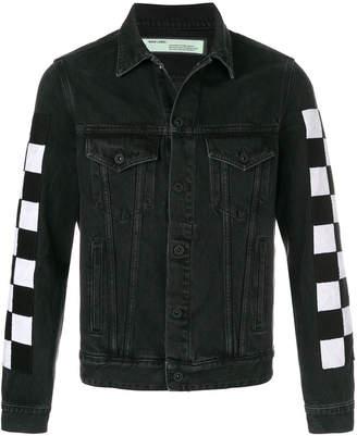 Off-White Big Check jacket