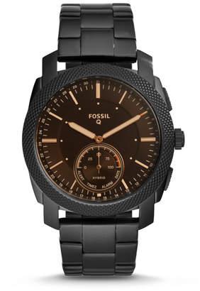 Fossil Hybrid Smartwatch - Q Machine Black Stainless Steel