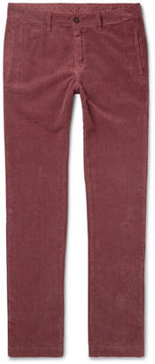 Massimo Alba Cotton-corduroy Trousers - Red