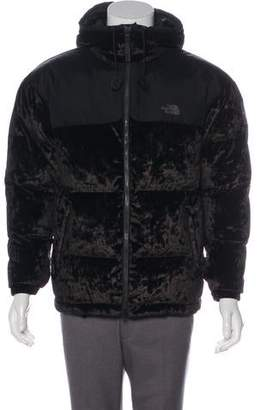 The North Face Black Series Velvet-Paneled Down Jacket
