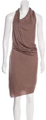 Helmut Lang Knee-Length Sleeveless Dress
