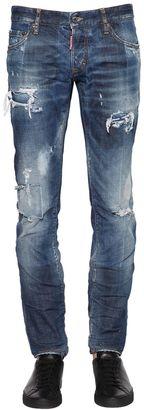 17.5cm Slim Fit Stretch Denim Jeans $660 thestylecure.com