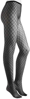 Me Moi MeMoi Diamond Mesh Tights - Women's