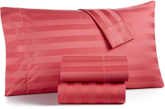 Charter Club Closeout! Damask Stripe Extra Deep Pocket King 4-Pc Sheet Set, 550 Thread Count 100% Supima Cotton, Created for Macy's Bedding