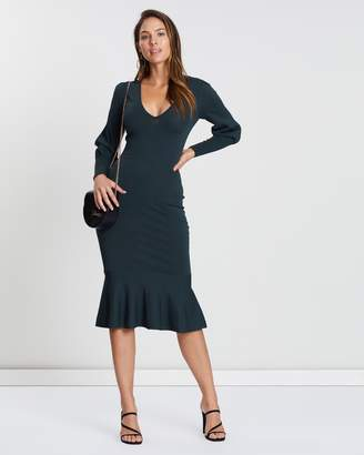 Cooper St Alexandra Fitted Knit Dress