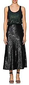 Alexander Wang WOMEN'S BLOUSON SEQUIN TANK DRESS SIZE 2