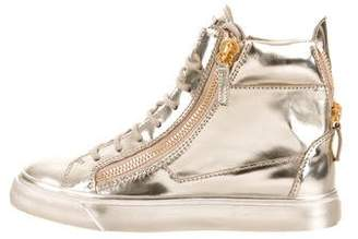 Giuseppe Zanotti London Mirror Sneakers w/ Tags