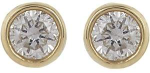 Jennifer Meyer Women's Diamond Bezel Stud Earrings