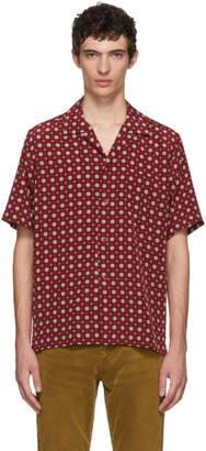 Saint Laurent Red Camper Shirt