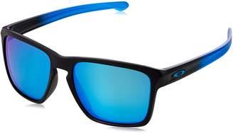 Oakley Men's Sliver Xl (a) Polarized Iridium Square Sunglasses