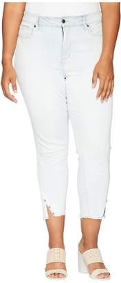 NYDJ Plus Size Plus Size Ami Skinny Ankle w/ Twisted Side Seam in Palm Desert Women's Jeans