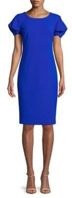 Calvin Klein Puff Sleeve Shift Dress