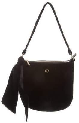 Eric Javits Velvet Shoulder Bag