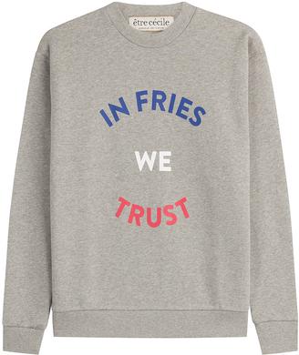 être cécile In Fries We Trust Boyfriend Sweatshirt
