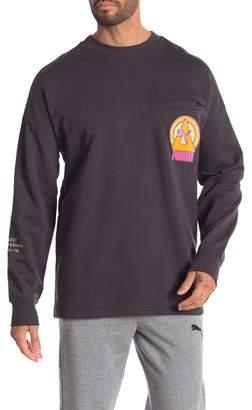 Puma Han Chest Pocket Pullover