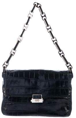 Anya Hindmarch Crocodile Flap Bag