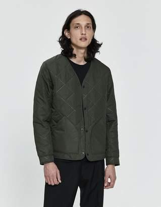 Herschel Sonic Quilt Jacket in Dark Olive