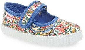 Toddler Girl's Cienta Canvas Mary Jane $35.95 thestylecure.com