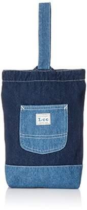 Lee (リー) - [リー] 【通園・通学】シューズバッグ キッズ LA0147-300 ワンウォッシュ 日本 フリー (FREE サイズ)