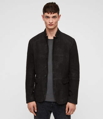 AllSaints Brenton Leather Jacket