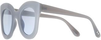 Lauren Conrad Kaia 43mm Midsize Wayfarer Gradient Sunglasses