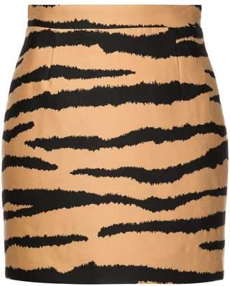 Proenza Schouler Tiger Jacquard Mini Skirt