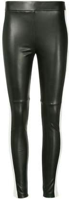 Goen.J faux leather leggings
